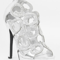 Wedding Shoes, Prom Sandals, Bridal Sandal, Bridesmaid Shoe, Rhinestone Shoes-800-64