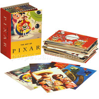 THE ART OF PIXAR - 100 Different Collectable Postcards