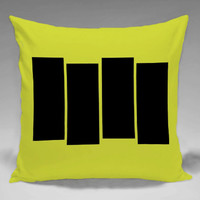 Black Flag - Square and Regtagular Pillow Case One Side/Two Side.