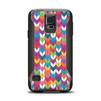 The Color Knitted Samsung Galaxy S5 Otterbox Commuter Case Skin Set