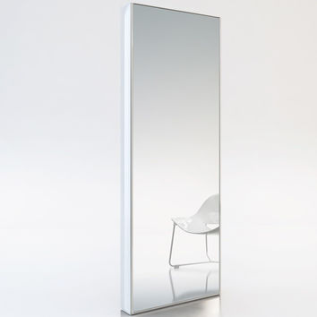 Taft Full-Length Mirror WHITE