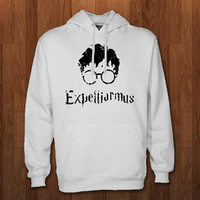 harry potter logo Hoodie for size s-3xl, for color black, white, gray, and red