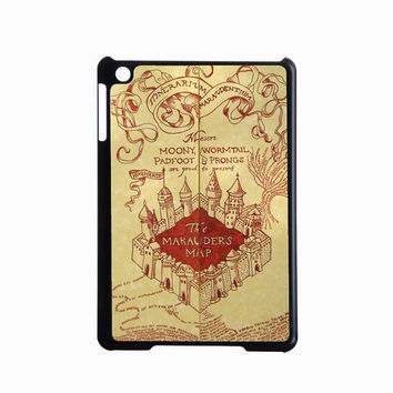 Harry potter, map - iPad mini case, iPad 2 case, New iPad case in black or white for choice