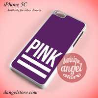 Pink Purple Victoria's Secret Phone case for iPhone 5C and another iPhone devices