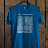 Greyjoy Division Game of Thrones Blue For Mens T Shirt and Womens T Shirt *76*