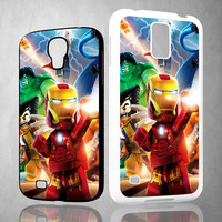 LEGO Marvel Super Heroes V0132 Samsung Galaxy S3 S4 S5 (Mini), Note 2 3 4, HTC One S X M7 M8  Cases