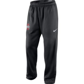 Nike Men's Ohio State Buckeyes Black KO Fleece Pants