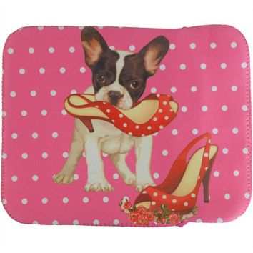 DCCKJY1 Puppy Plays With Shoe Fabric Tablet Cover