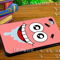 Patrick Bikini Button For iphone 4 iphone 5 samsung galaxy s4 / s3 / s2 Case Or Cover Phone.
