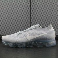 Nike Air Max Vapor Max Flyknit For Women Men Running Sport Casual Shoes Sneakers White