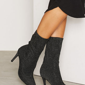 Slouched Heel Boot, NLY Shoes