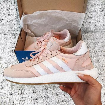 adidas iniki runner boost pink fashion trending running sports shoes sneakers