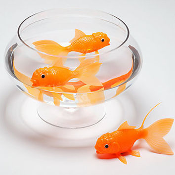 Fred & Friends KOI TOY Light-Up Bath Goldfish