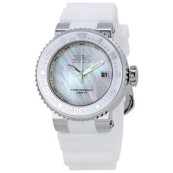 Invicta Pro Diver Mother of Pearl Dial Unisex Watch 22666