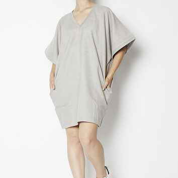 Wool V-Neck Tunic