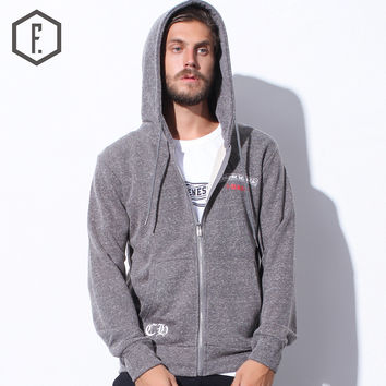 Zippers Hats Winter Men's Fashion Hoodies [8822219587]