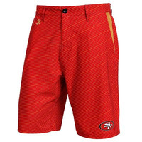 San Francisco 49ers Official NFL Dots Walking Shorts