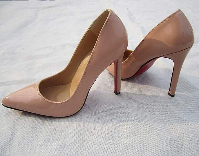 hot sale online 3c68b b27a7 pumps high heels pointed toe women shoes Red bottom sole