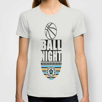BALL NIGHT T-shirt by Robleedesigns
