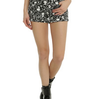 Disney Alice In Wonderland Filigree Shorts