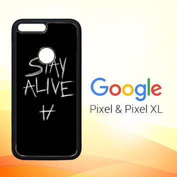 Twenty One Pilots Stay Alive X4419 Google Pixel Case