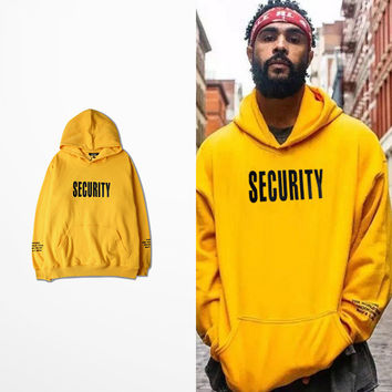 Dmart7deal justin bieber fear of god Purpose Tour yellow men woman hoodies  long sleeve man lovers hooded sweatshirt