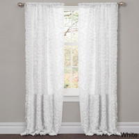 Lush Decor Stella 84-inch Curtain Panel | Overstock.com Shopping - The Best Deals on Curtains