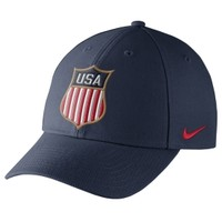 Nike Men's USA Hockey Dri-FIT Navy Adjustable Hat