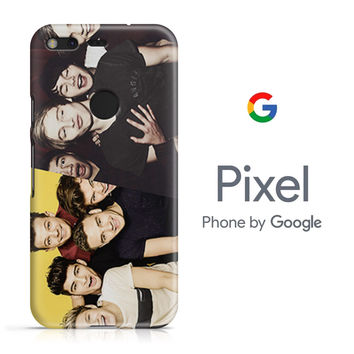 One Direction And 5 Second of Summer Google Pixel Phone 3D Case