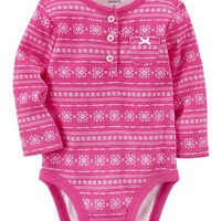 Fair Isle Collectible Bodysuit