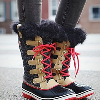 Sorel  Tofino Herringbone Boot at Free People Clothing Boutique