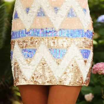 Youll Think Of Me Skirt: Multi