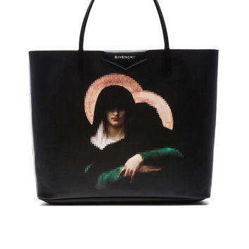 GIVENCHY Madonna Antigona Shopper in Black | FWRD