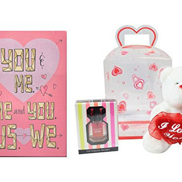 Victoria's Secret Bombshell Summer Valentines Gift Set w/ Card