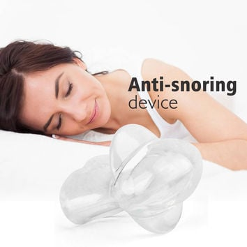 Silicone Anti Snoring Tongue Retaining Device