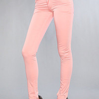 The Zip Low Jean in Satin Pink : Cheap Monday : Karmaloop.com - Global Concrete Culture