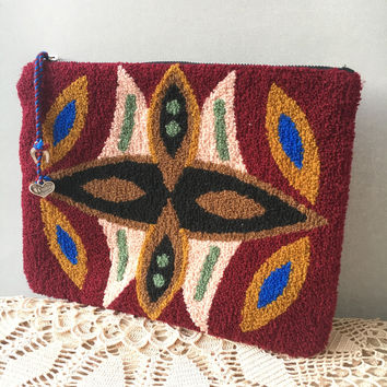 ethnic clutch, Handbag