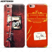 Phone Cases Fantastic Beasts and Where to Find Them Clear TPU for Apple iPhone 5 5s SE 6 6s 7 Plus
