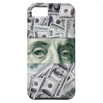 Ben Franklin's Eyes iPhone 5 Case from Zazzle.com