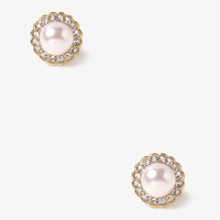 Encased Pearlescent Studs