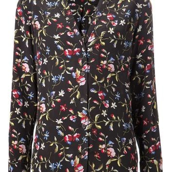Equipment floral print blouse