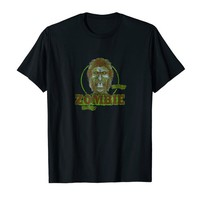 ZOMBIE and Brains Horror Lovers Tee Shirt
