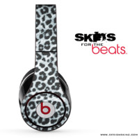Real Black & White Leopard Skin for the Beats by Dre