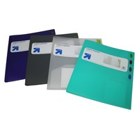 up & up™ 1ct 8-tab Poly View Portfolio