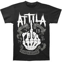 Attila Men's Boned T-shirt Black