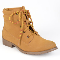 Madden Girl by Steve Madden Women's 'Raage' Fashion Work Boots | Overstock.com Shopping - The Best Deals on Boots