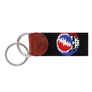 Steal Your Face Key Fob in Black by Smathers & Branson