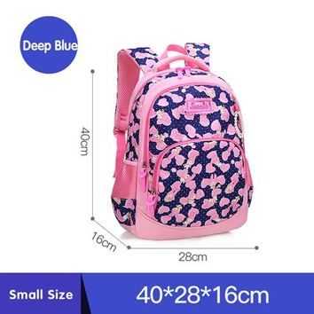 School Backpack Children's backpack pink girl's  2018 new breathable student school bags Leisure cartoon mochila infantil escolar AT_48_3