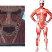 Attack on Titan Giants Nendoroid of the Colossal Titan Jumpsuit Costume