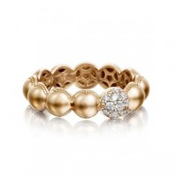 Tacori Sonoma Mist Rose Gold Diamond Dome Ring
